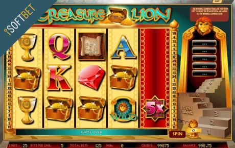 treasure lion slot machine online