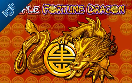 triple fortune dragon slot machine online