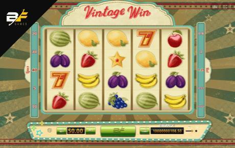 vintage win slot machine online