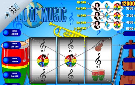 world of music slot machine online