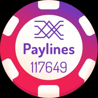 117649 paylines slot machines logo