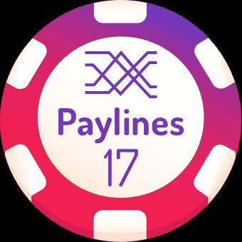 17 paylines slot machines logo