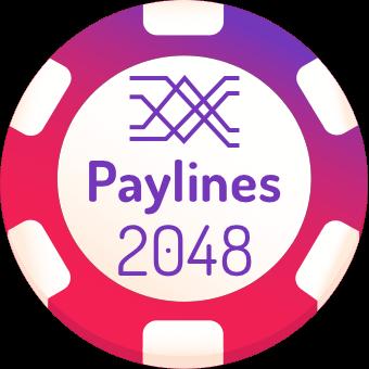 2048 paylines slot machines logo