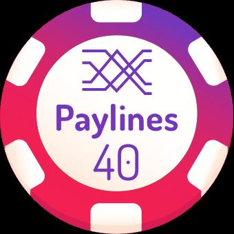 40-paylines-slots-logo
