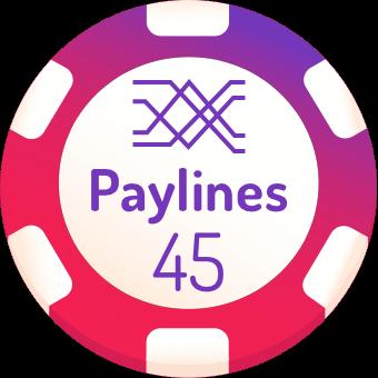 45-paylines-slots-logo