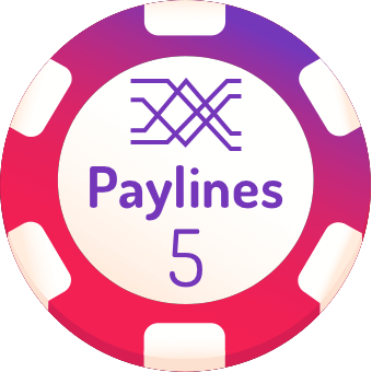 5 paylines slot machines logo
