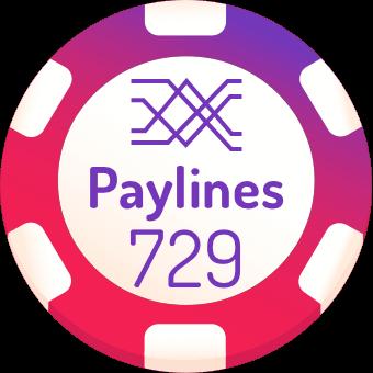 729-paylines-slots-logo