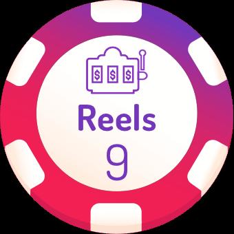 9 rells slots logo