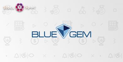blue gem gaming online casino logo