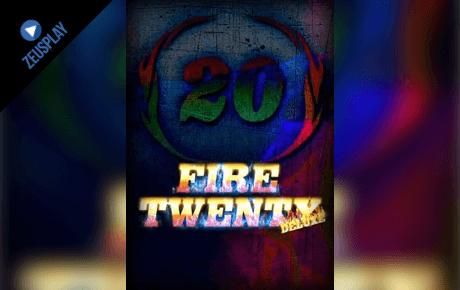 fire twenty deluxe slot machine online