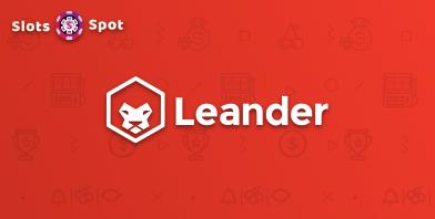 leander games online casino logo