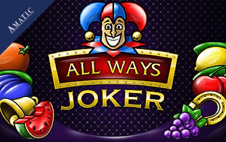 all ways joker slot machine online