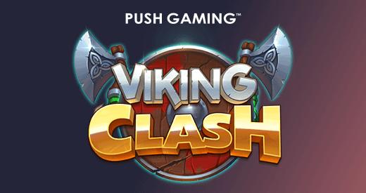 push gaming proclaims legendary slot release viking clash