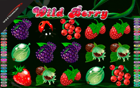 Wild Berry 50 Line Slot machine