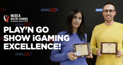 igaming excellence awards conquered by play'n go
