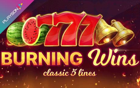 Burning Wins slot machine