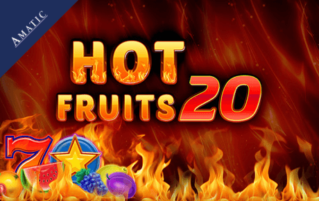 Hot Fruits 40 slot machine