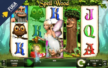 Spell Wood slot machine