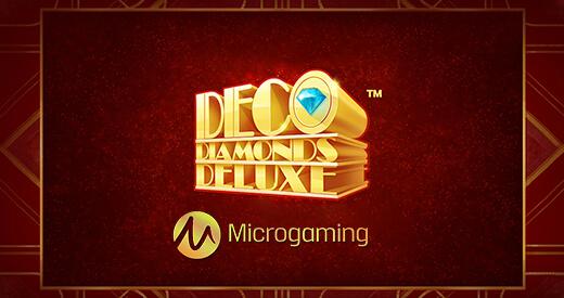 diamonds deluxe microgaming