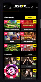 hyper casino mobile