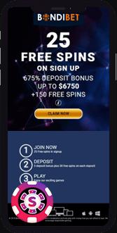bondi bet casino mobile