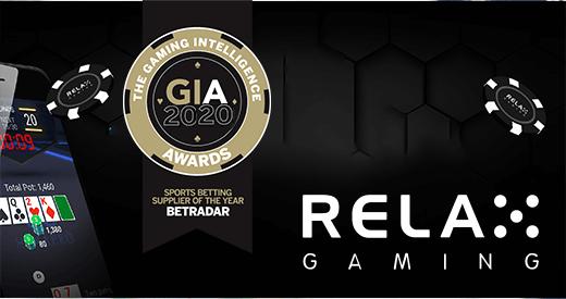 RelaxGamings fame at GIA