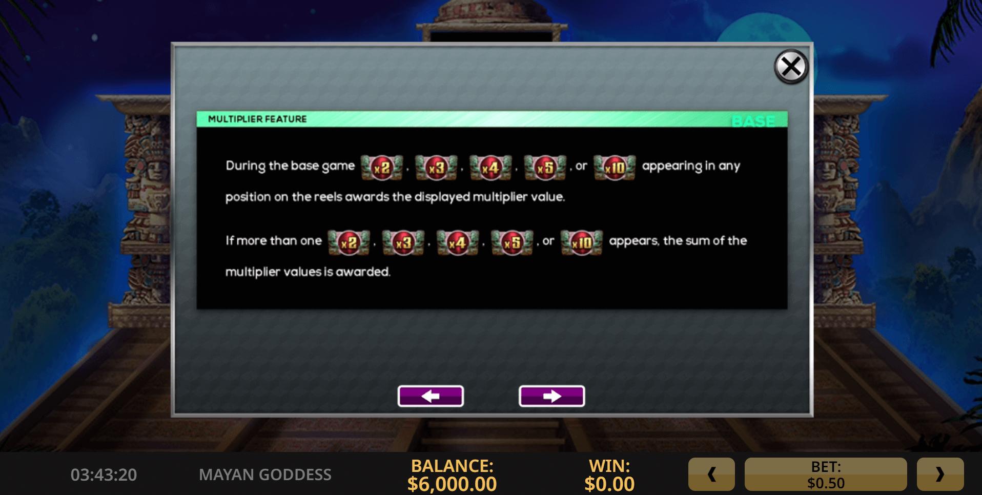 Mayan Goddess Slot Machine