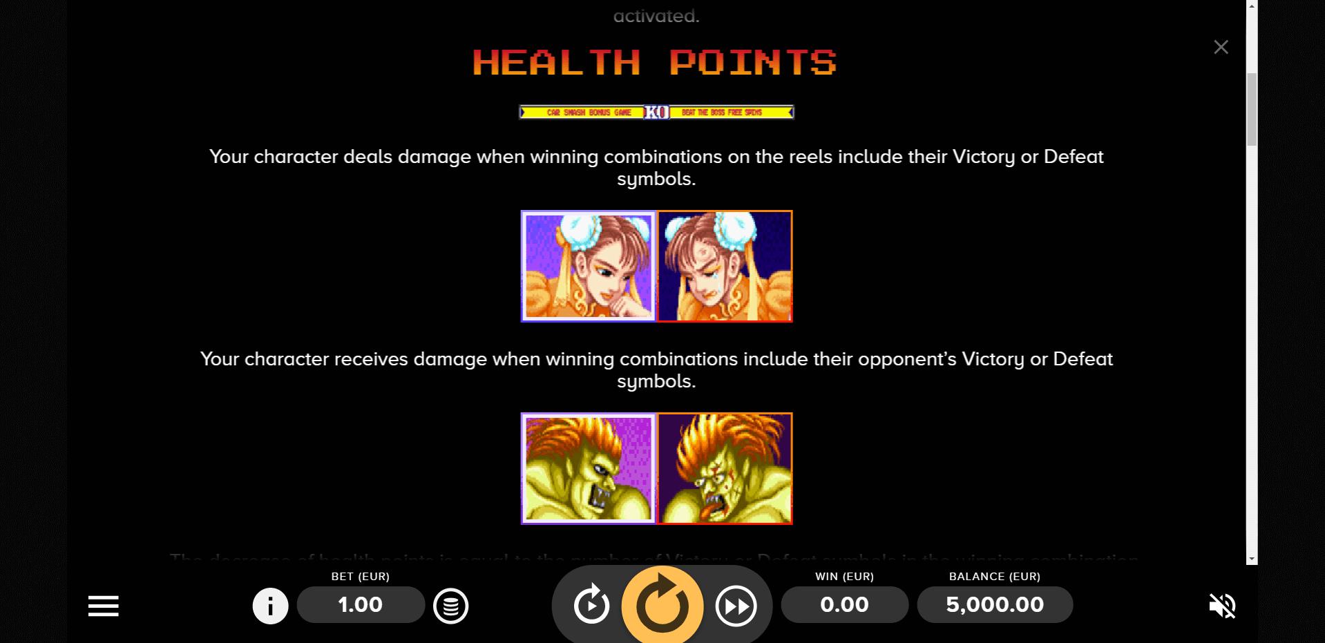 Street Fighter 2 The World Warrior Slot Machine