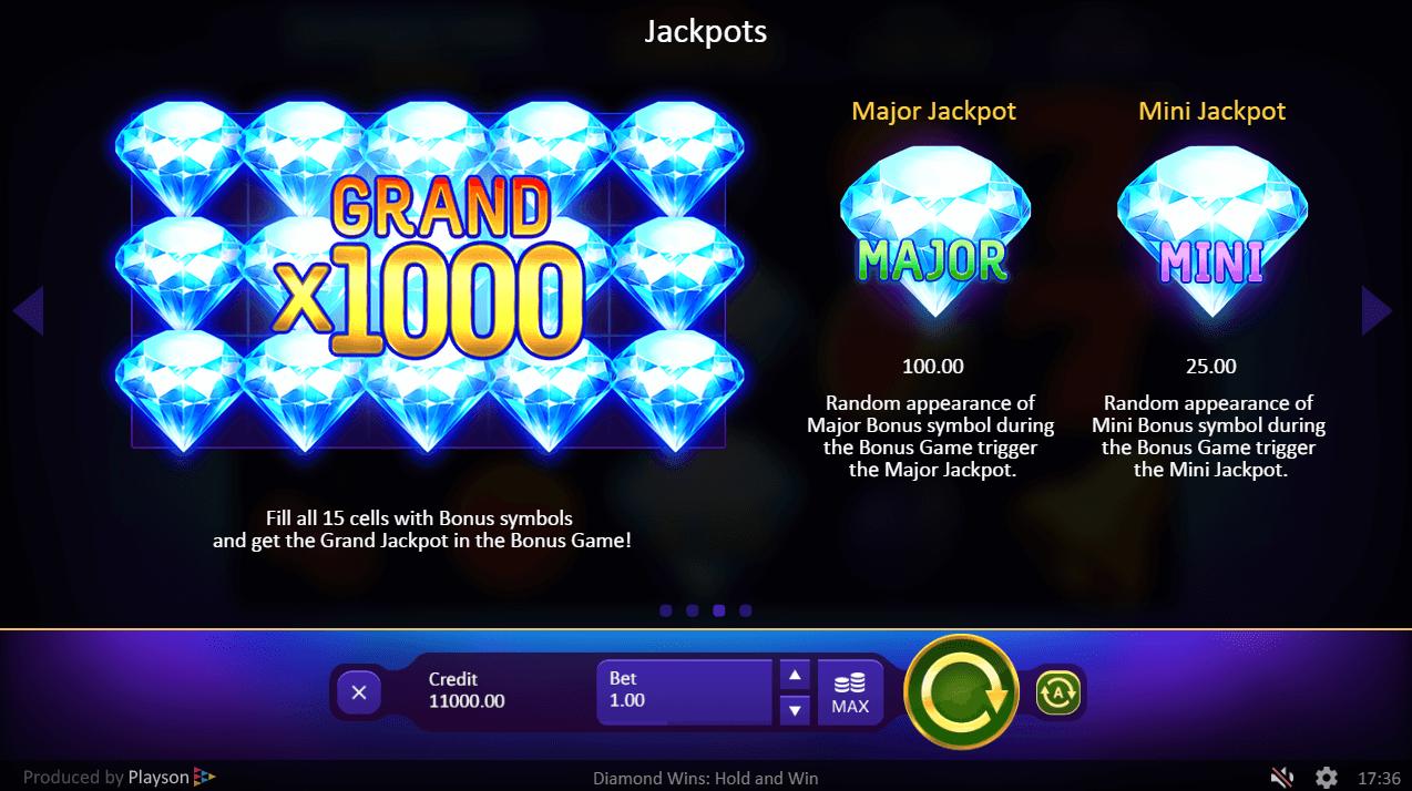 Diamond Wins Slot Machine
