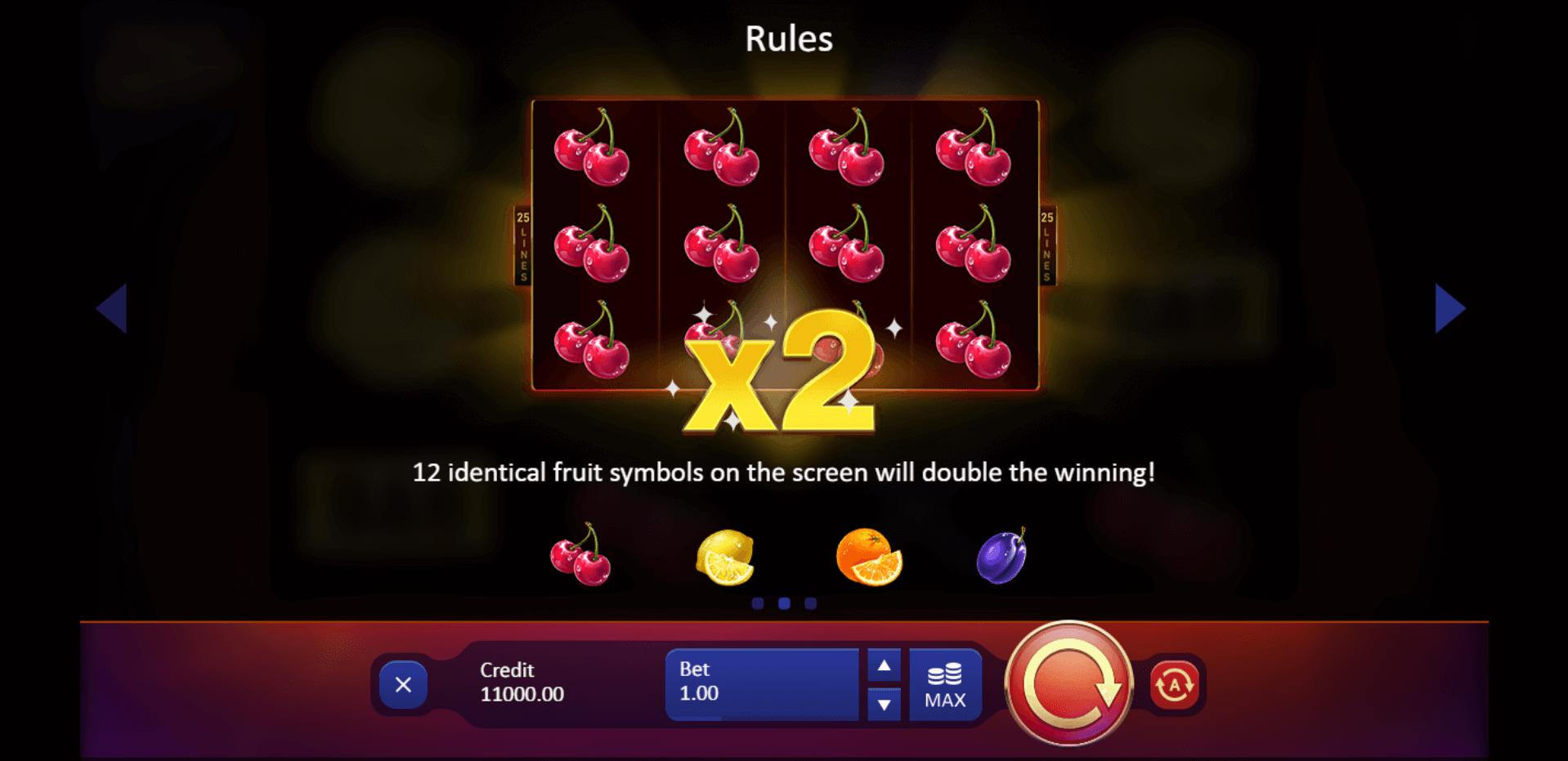 Fruit Supreme Slot Machine