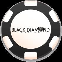 black diamond casino bonus chip logo