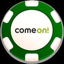 comeon casino bonus chip logo