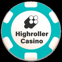 highroller casino bonus chip logo