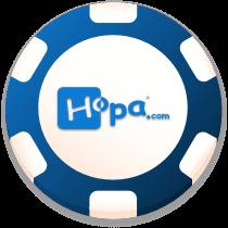 hopa casino bonus chip logo