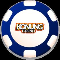 konung casino bonus chip logo