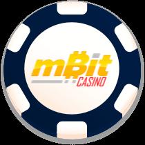 mbit casino bonus chip logo