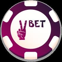 vbet casino bonus chip logo