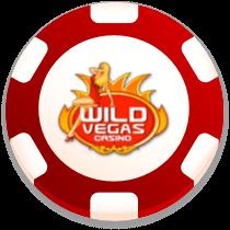 wild vegas casino bonus chip logo
