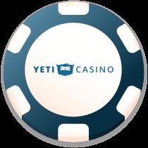 yeti casino bonus chip logo