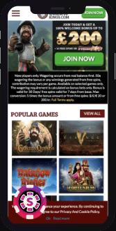 kings casino mobile