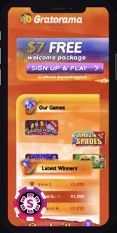 gratorama casino mobile
