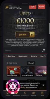 hippodrome online casino mobile