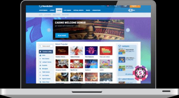 nordicbet casino games