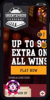 orientxpress casino mobile