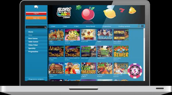 sloto cash casino games