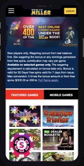 slots miller casino mobile