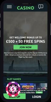 the online casino mobile