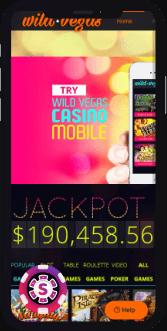 wild vegas casino mobile