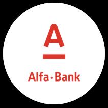 alfa bank casino payment logo