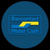 bancontact/mister cash casino payment logo